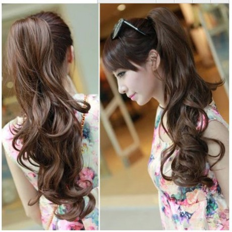 Hair-Clip-2015-New-Arrival-Real-Wavy-Hair-Tail-Wig-For-Ponytail-Grasping-Jaws-Pear-Volume