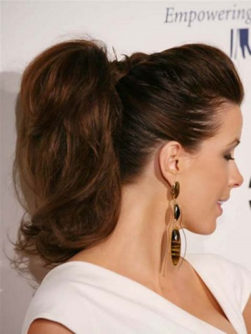 Trendy-ponytail-hairstyle-women