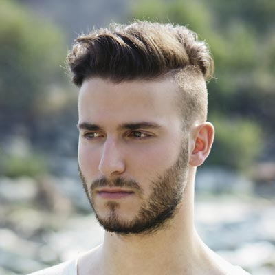 Undercut-for-Men-with-a-Beard-
